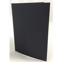Black Card 300gsm Size B/A6 (10 Pack)