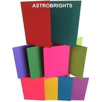 Size B (A6) Cards in Astrobrights Colours
