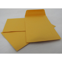 Gold Lick & Stick P6 Seed Envelope x 10