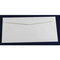 DL White Lick & Stick Envelope x 10