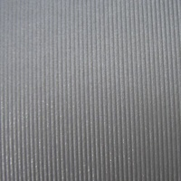 Metallics Embossed Fusilier Silver Grey A4