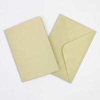 Pearlised Almond Cards & Envelopes Size 105mmx150mm Qty 4