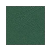 Cut Out Circle Embossed Shaped Square Cards Green Leathergrain x 10 with Envelopes