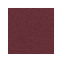 Cut Out Circle Embossed Shaped Square Cards Maroon Leathergrain x 10 with Envelopes