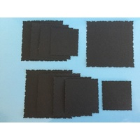 Deckle Edged Die Cut Squares 10 Nested