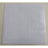 3D Square 5mm x 1mm Adhesive Foam Pads