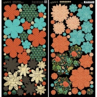 Graphic 45 Couture Flower Die Cuts