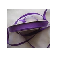 Grosgrain 16mm Purple x 5 mtrs