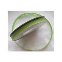 Grosgrain 25mm Lime Green x 5 mtrs