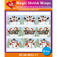 Magic Shrink Wraps Snowman II