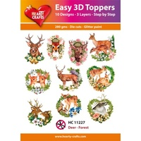 Hearty Crafts Deer Forest Die Cut Paper Tole