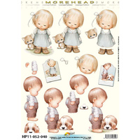 Ragamuffin Toddlers Paper Tole