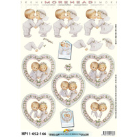 Wedding Children Couple Paper Tole
