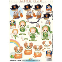 Dress Up Children Paper Tole