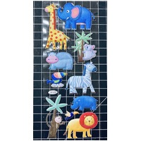 Wild Animals & Birds Puffy Sticker