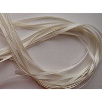 Poly Satin 3mm Ivory Ribbon x 45mtrs