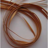 Poly Satin 3mm Gold Ribbon x 45mtrs