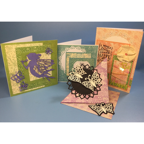 Graphic 45 Fairy Card Making Kit - Create Five Cards