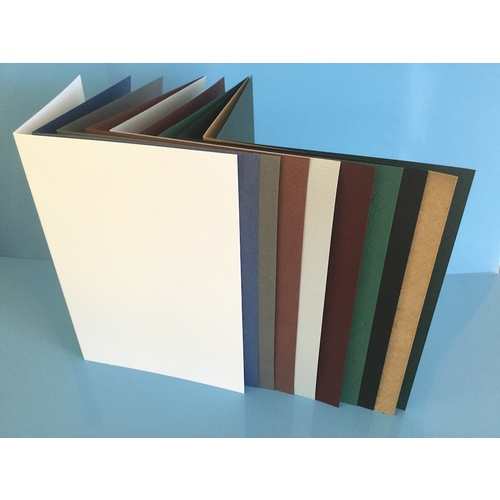 Assorted A5 Folded Cards & Envelopes x 10